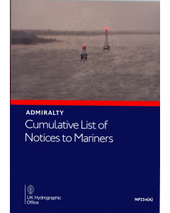 NP234(A) - ADMIRALTY: Cumulative List of ADMIRALTY Notices to Mariners - January 2021
