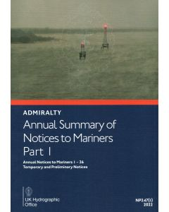 Annual Summary of ADMIRALTY Notices to Mariners 2019 Part 1