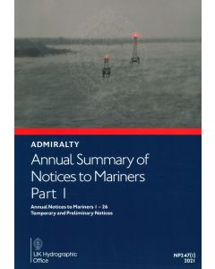 Annual Summary of ADMIRALTY Notices to Mariners Part 1
