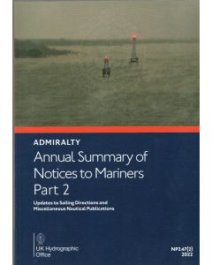 Annual Summary of ADMIRALTY Notices to Mariners 2019 Part 2