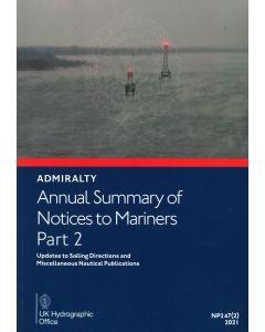 Annual Summary of ADMIRALTY Notices to Mariners Part 2