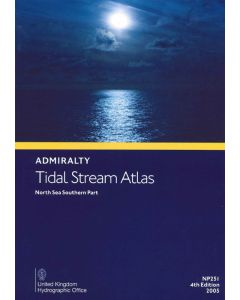 NP251 - ADMIRALTY Tidal Stream Atlas: North Sea - Southern Part