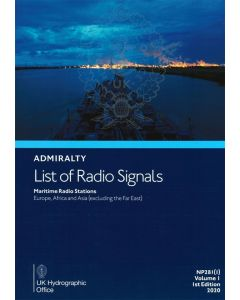 ADMIRALTY List of Radio Signals: Maritime Radio Stations - Europe, Africa and Asia (excluding the Far East) ( NP281(1) | Volume 1 | 2018/19 )