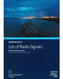 ADMIRALTY List of Radio Signals: Maritime Radio Stations - The Americas, Far East and Oceania ( NP281(2) | Volume 1 | 2018/19 )