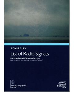 ADMIRALTY List of Radio Signals: Maritime Safety Information Services - Europe, Africa and Asia (excluding the Far East) ( NP283(1) | Volume 3 | 2018/19 )