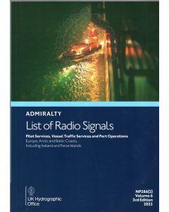 NP286(2) - ADMIRALTY List of Radio Signals: Volume 6, Part 2