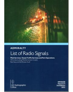 ADMIRALTY List of Radio Signals: Pilot Services, Vessel Traffic Services and Port Operations - Africa (excluding Mediterranean Coast), Red Sea and the Persian Gulf ( NP286(8) | Volume 6 | 2019/20 )