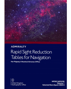NP303[1] - ADMIRALTY Rapid Sight Reduction Tables For Navigation: Volume 1