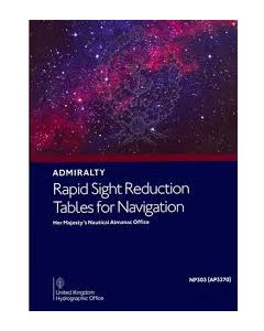NP303[3] - ADMIRALTY Rapid Sight Reduction Tables For Navigation: Volume 3