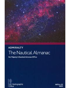 NP314 - ADMIRALTY: The Nautical Almanac 2022