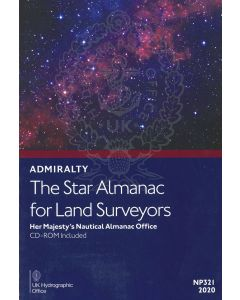 NP321 - ADMIRALTY: The Star Almanac for Land Surveyors