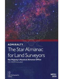 NP321 - ADMIRALTY: The Star Almanac for Land Surveyors