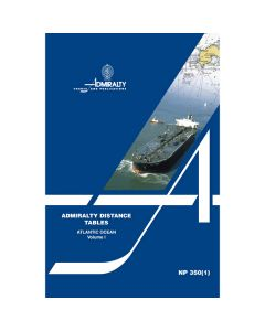ADMIRALTY Distance Tables: Atlantic Ocean - Volume 1 ( NP350(1) | 2nd Edition )