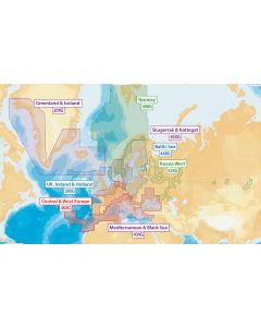 Navionics+ XL9 - North Europe & Mediterranean