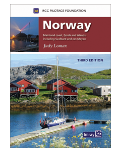Norway - Mainland coast, fjords and islands, including Svalbard and Jan Mayen (3rd Edition, 2016)