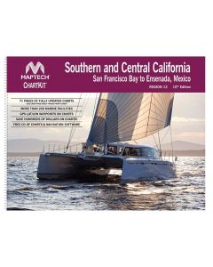 ChartKit Region 12 - Southern and Central California: San Francisco Bay to Ensenada, Mexico