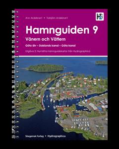 Hamnguiden 9: Göta kanal med Vänern och Vättern