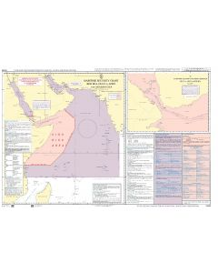 ADMIRALTY Maritime Security Planning Chart Q6099: Red Sea, Gulf of Aden and Arabian Sea​