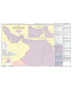 ADMIRALTY Maritime Security Planning Chart Q6111 - Persian Gulf and Arabian Sea