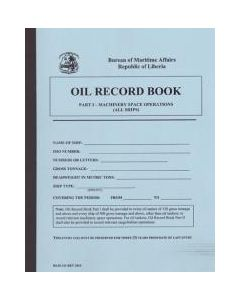 Liberian Oil Record Book Part 1 - Tankers