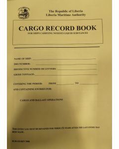 Cargo Record Book - For Ships Carrying Noxious Liquid Substances