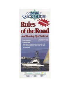 Rules of the Road and Running Light Patterns Captain's Quick Guides