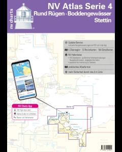 NV.Atlas Serie 4: Rund Rügen, Boddengewässer & Stettin