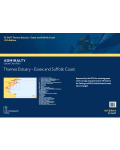 SC5607 Thames Estuary - Essex and Suffolk Coasts (12th Edition)