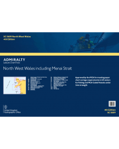 SC5609 North West Wales including Menai Strait (4th Edition)