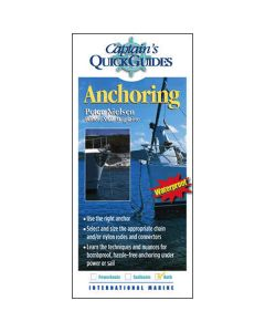 Anchoring: Captains Quick Guide