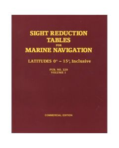 Sight Reduction Tables for Marine Navigation Vol. 1
