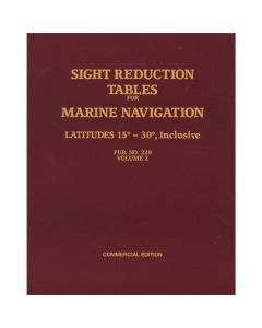 Sight Reduction Tables for Marine Navigation Vol. 2