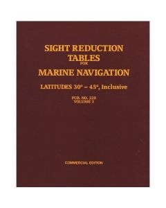 Sight Reduction Tables for Marine Navigation Vol. 3