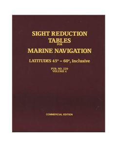 Sight Reduction Tables for Marine Navigation Vol. 4