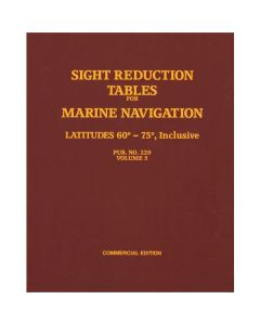 Sight Reduction Tables for Marine Navigation Vol. 5