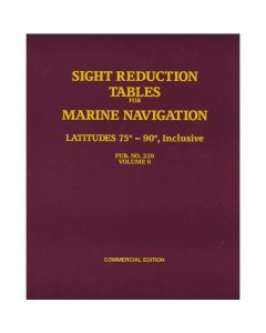 Sight Reduction Tables for Marine Navigation Vol. 6