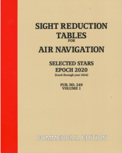 Sight Reduction Tables for Air Navigation Vol.1 [Selected Stars] Epoch 2020.0