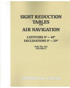 Sight Reduction Tables for Air Navigation Vol.2 [Lat.0 to 40] - [Decl.0 to 29]