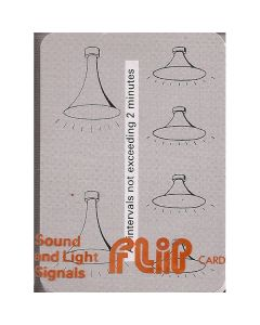 Flip Cards - Sound/Light/Distress