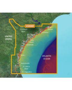 Garmin BlueChart g3 Vision - Charleston-Jacksonville (VUS008R)