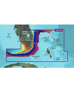Garmin BlueChart g3 Vision - Southeast Florida & Bahamas (VUS010R)