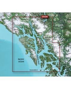 Garmin BlueChart g3 Vision - Wrangell-Juneau-Sitka (VUS026R)