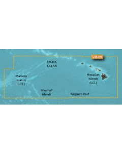 Garmin BlueChart g3 Vision - Hawaiian Is.-Mariana Is. (VUS027R)