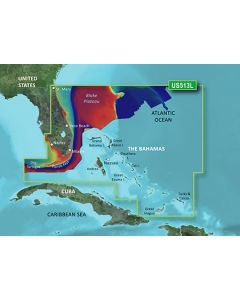 Garmin BlueChart g3 Vision - Jacksonville-Bahamas (VUS513L)