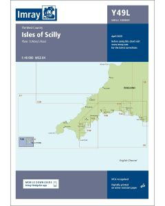 Laminated Y49 Isles of Scilly (Imray Chart)