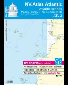 ATL3 NV Atlas Atlantic Islands - Madeira, Canary Islands, Azores, Cape Verde (2018 Edition)