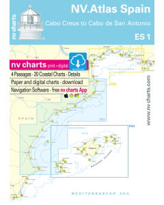ES 1: NV.Atlas Spain - Cabo Creus to Cabo San Antonio