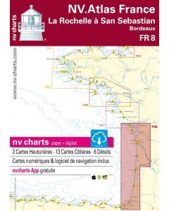 FR 8: NV.Atlas France - La Rochelle à San Sebastian (Bordeaux)
