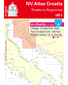 HR 1: NV.Atlas Croatia - Trieste to Vodice