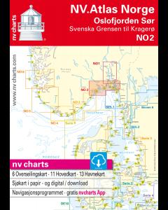 NO 2: NV.Atlas Norge - Oslofjord Sør (Svenska Grensen til Kragerø)